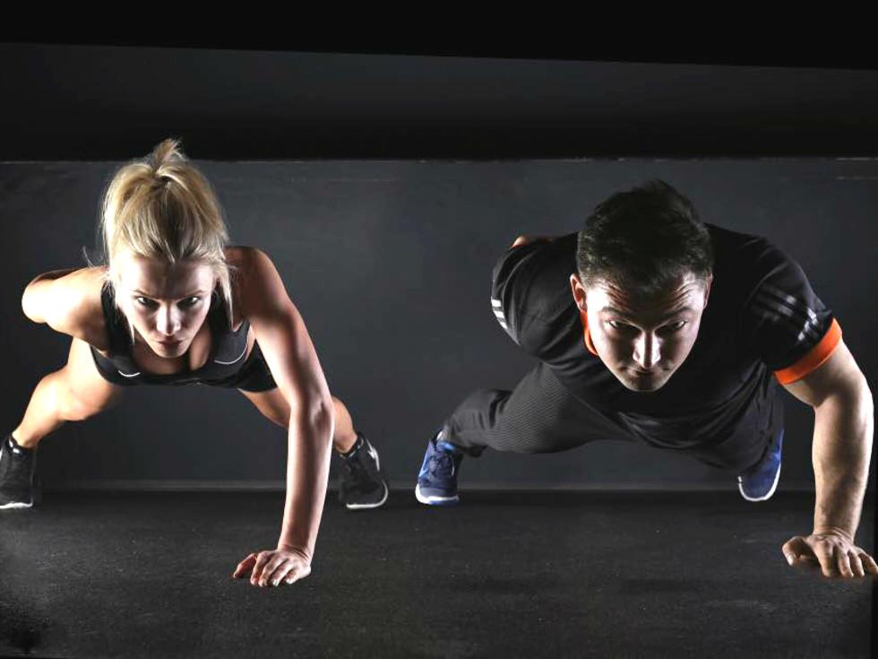 REV365 Sugar Land push up gym