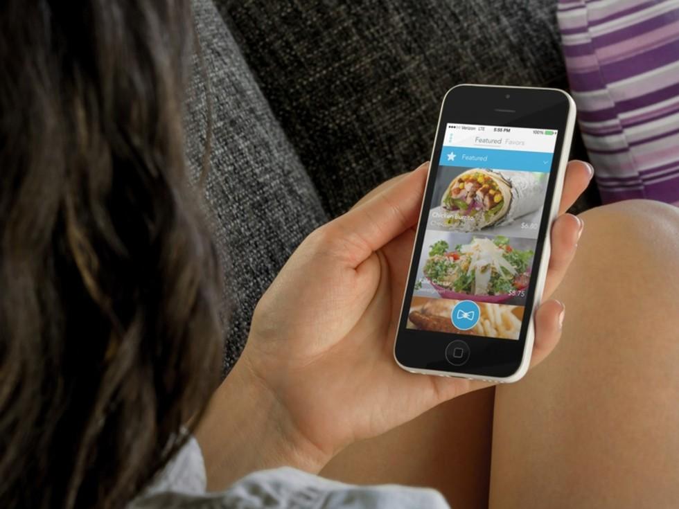 2 Nikki Favor food delivery app January 2015