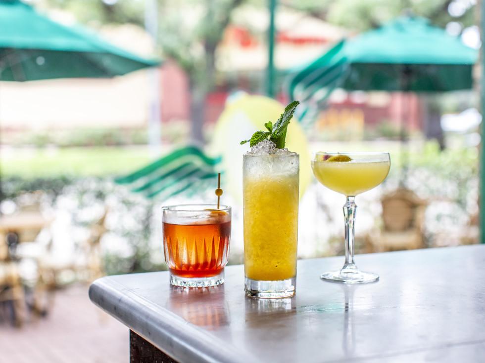 B.B. Lemon Montrose cocktails