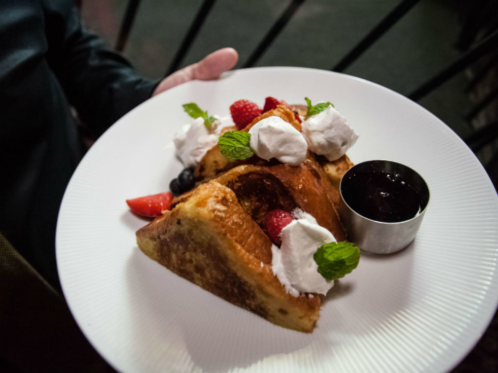 Clover Club French toast