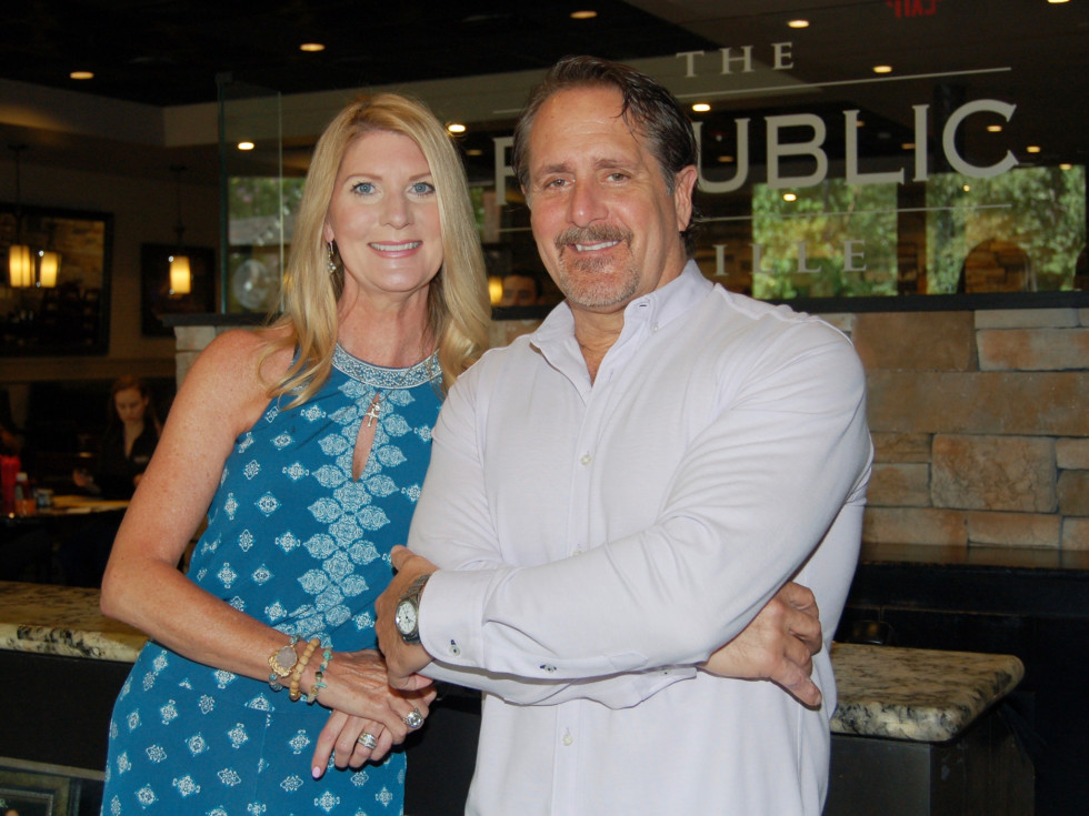 Republic Grille Jennifer and Terry McBurney