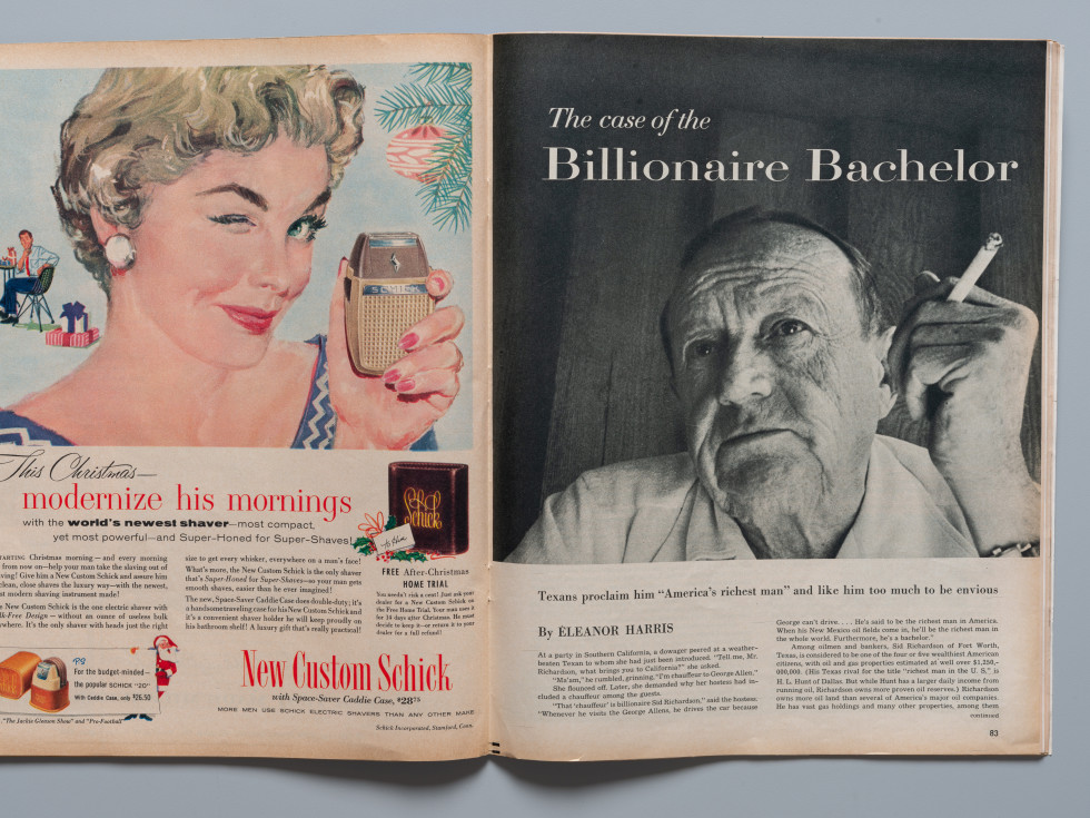 Look Magazine article Sid Richardson