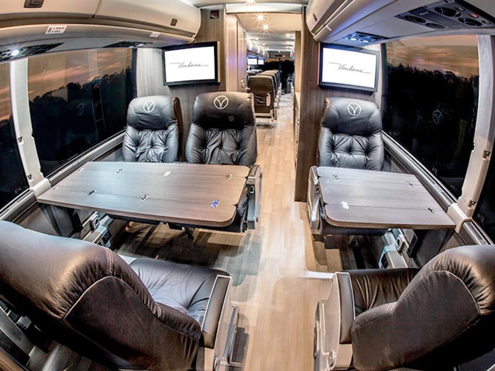 Vonlane seats with desks