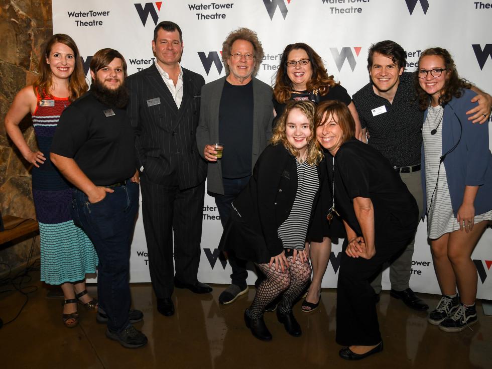 Steve Dorff and WaterTower Theatre staff