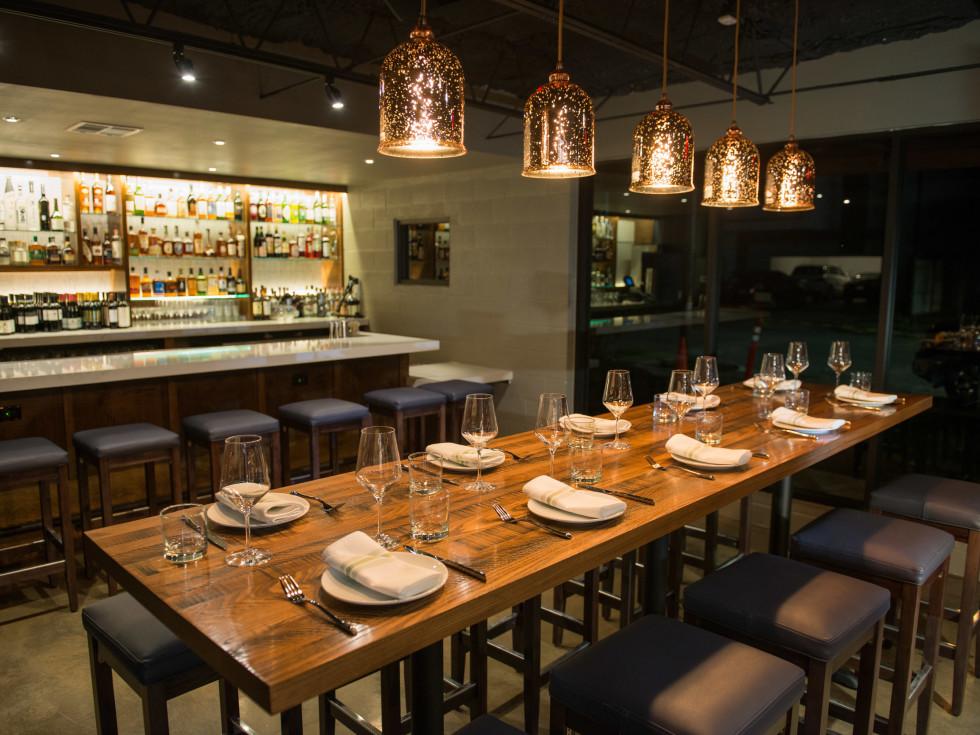 Riel restaurant interior