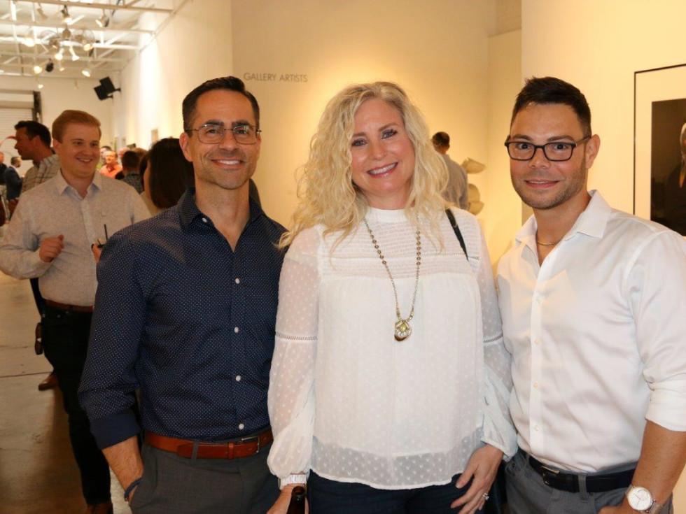 Rick Wilson, Rebecca Taylor and Edgar Negron