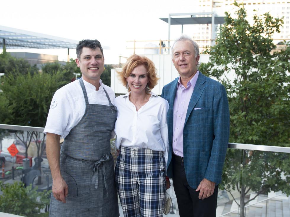 Chef Eric Dryer (HALL Arts Hotel, Jolie Humphrey and Bart Humphrey