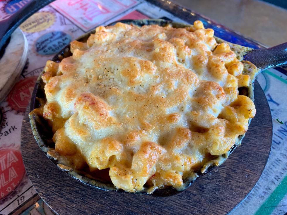 Preslee's crawfish mac and cheese