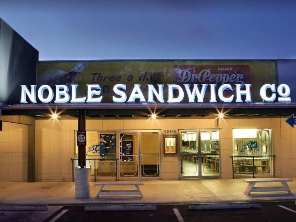 Noble Sandwich Austin