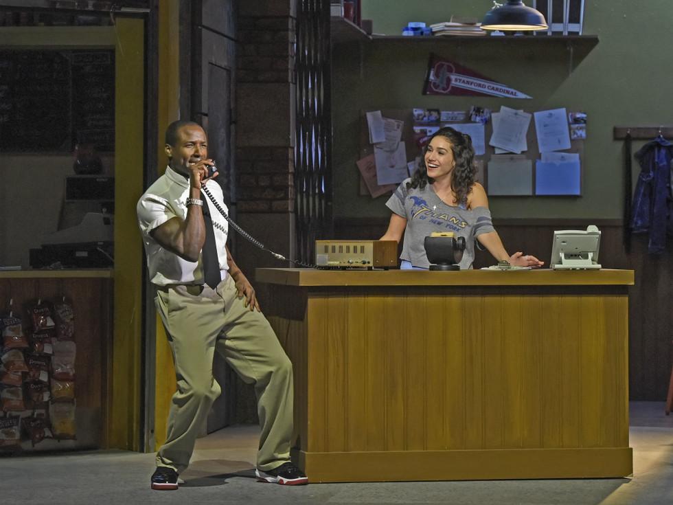 Devin L. Roberts and Tiffany Solano DeSena in Dallas Theater Center's In the Heights