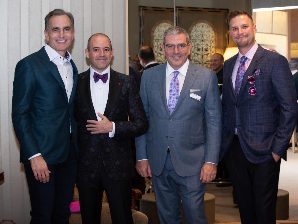 Real Men Wear Pink Candidates David Gow, Mike Rosenbaum, Murry Penner & Brian Wiegman