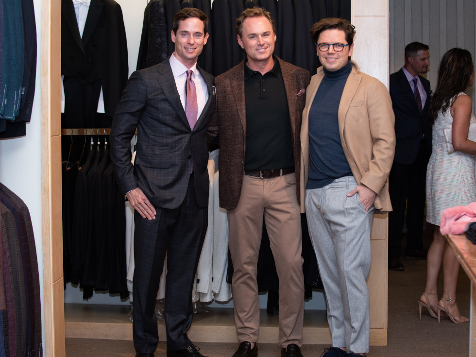 Real Men Wear Pink Houston 2019 Candidates Henry Richardson, Andrew Cordes & David Peck