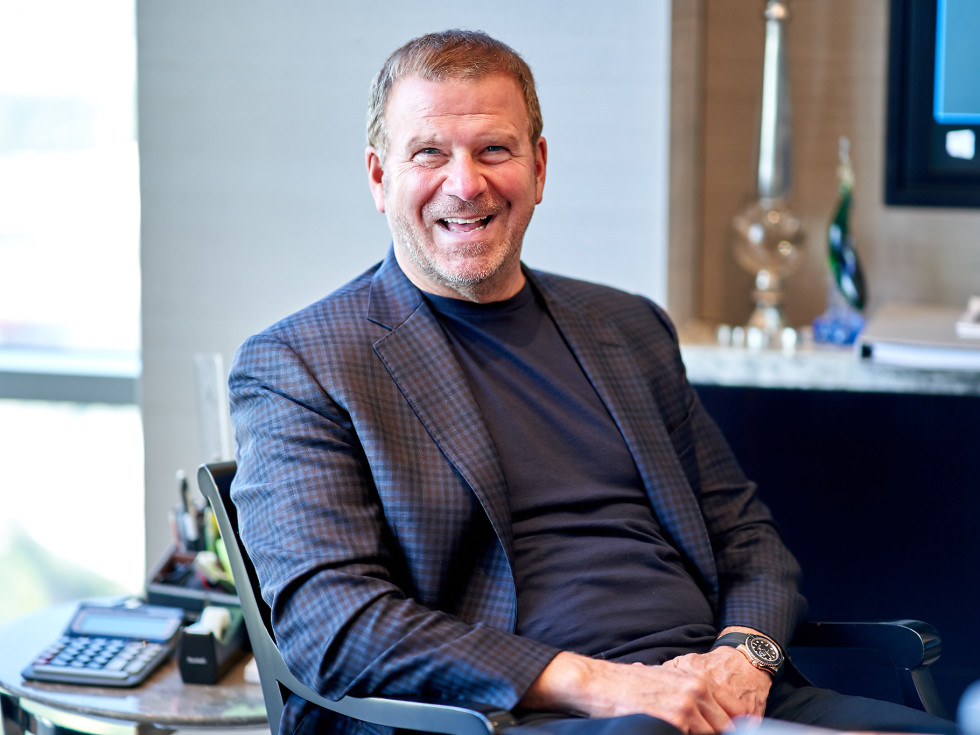 Tilman Fertitta Shut Up and Listen book laughing