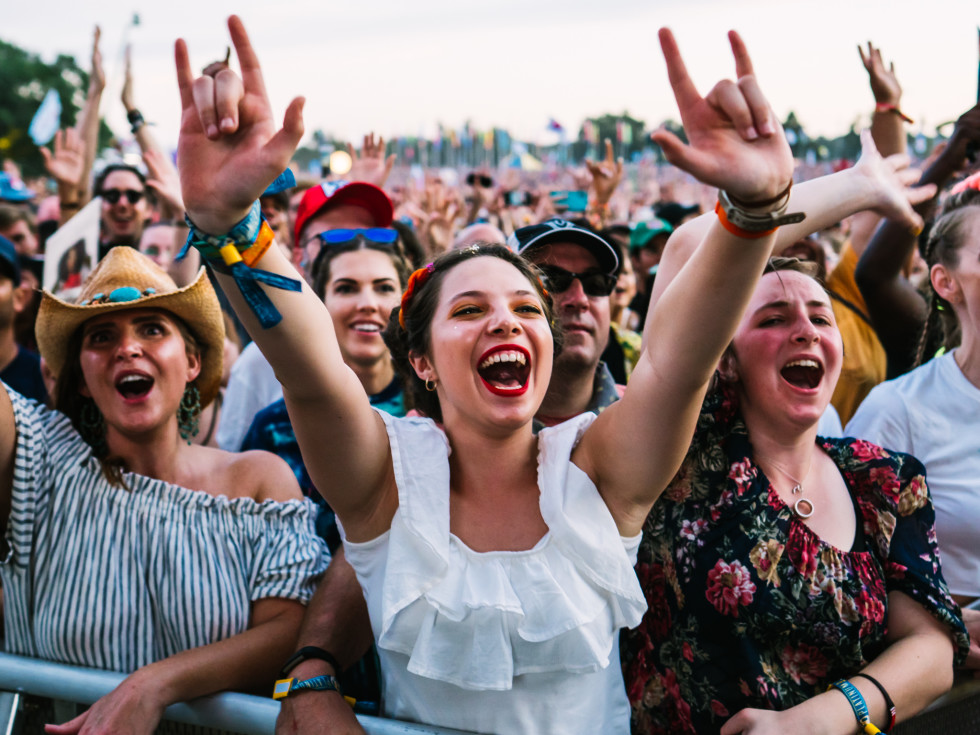 Austin City Limits Music Festival 2019 crowd