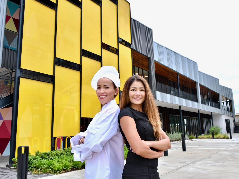 Kin Dee Thai restaurant Miranda Leotkhamfu Lukkaew Srasrisuwan