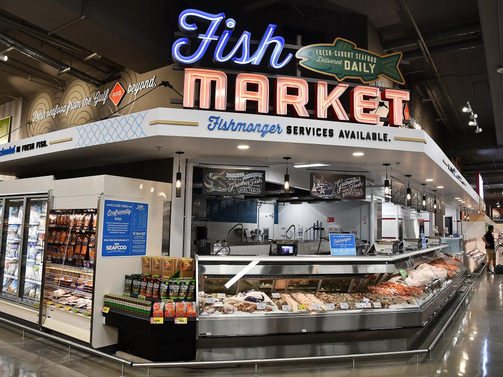 H-E-B Buffalo Heights Houston Fish Market