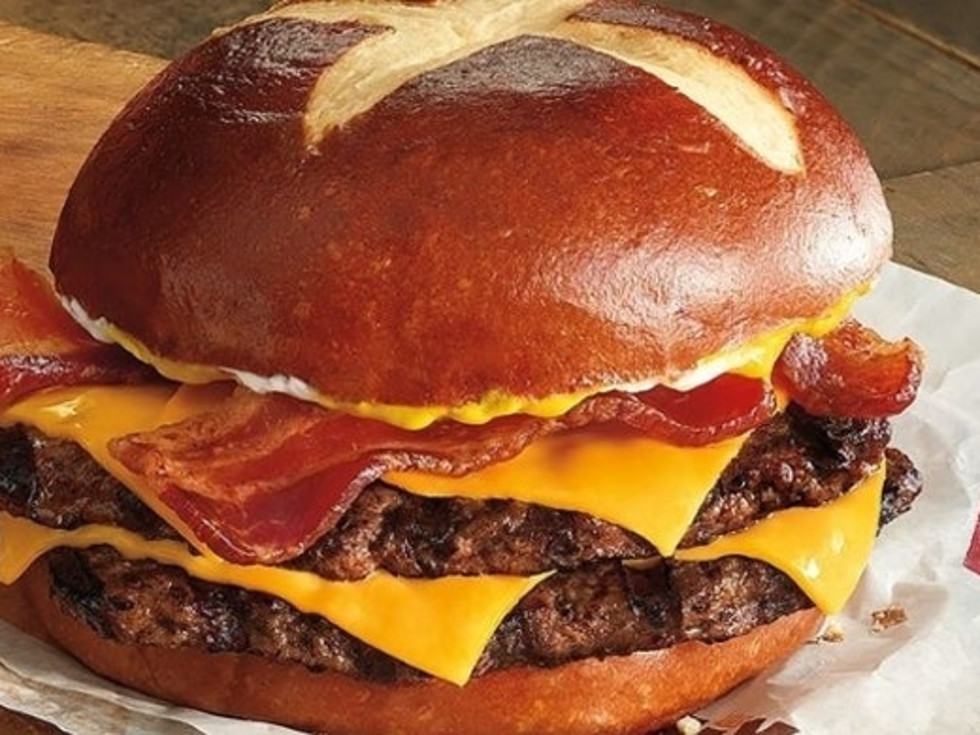 Drive-thru Gourmet Burger King Pretzel King
