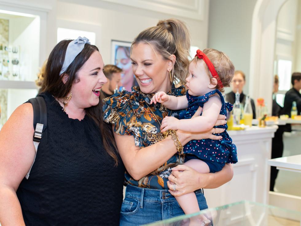 Meredith Rousey, Kendra Scott & Harper Rousey