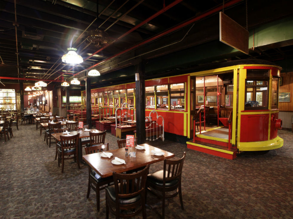 Spaghetti Warehouse trolley