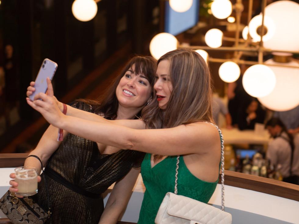 C. Baldwin grand opening 2019 selfies