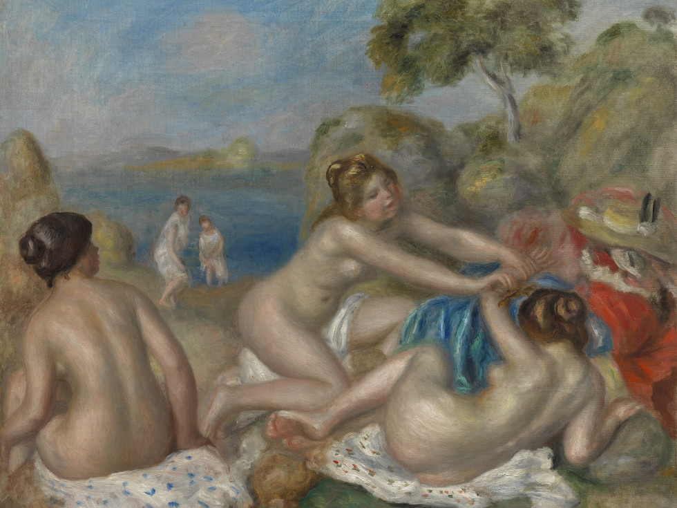 Renoir, Bathers With A Crab