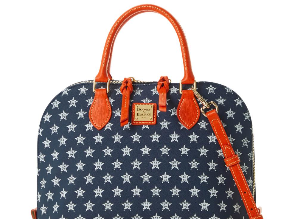 Where to shop Astros World Series 2019 Dooney & Bourke satchel