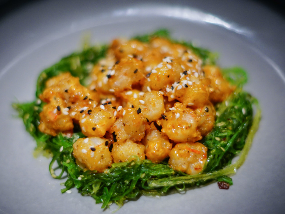 Tempura rock shrimp