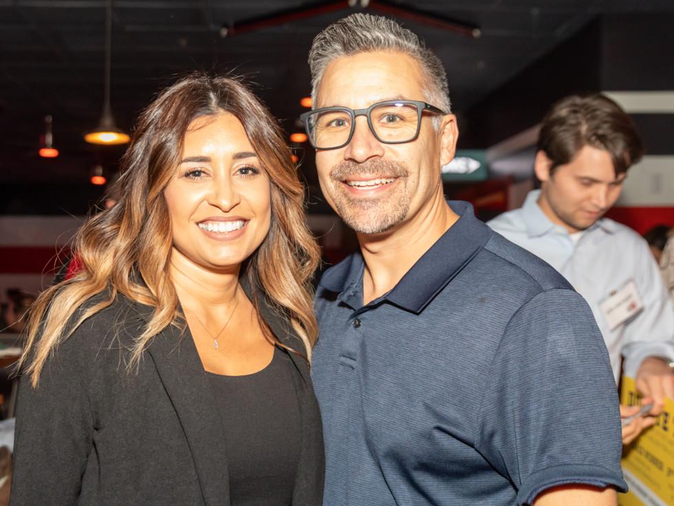 Clint Capela bowling bash 2019 Macy Marcel Villegas