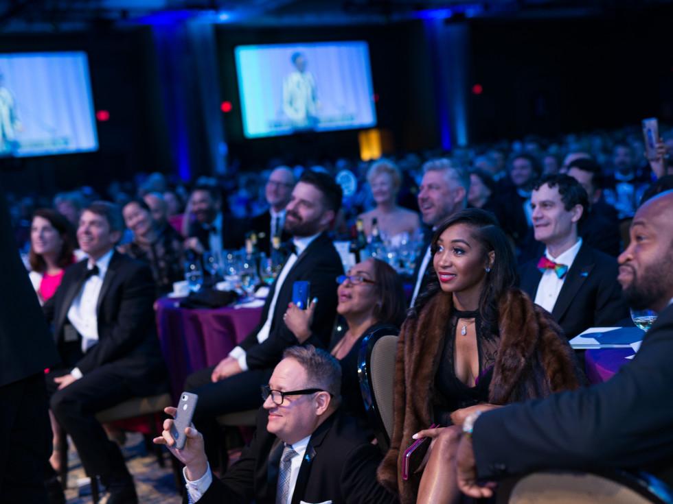 The crowd at Black Tie Dinner 2019