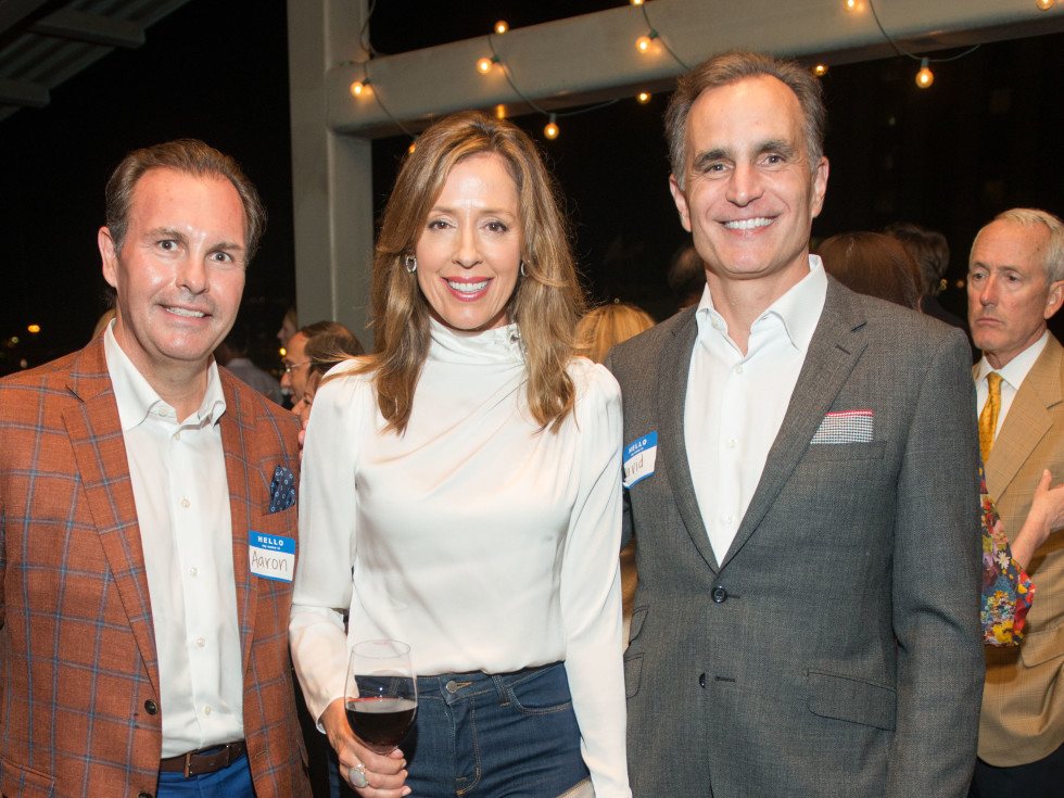 Automotive Map launch party 2019 Erin and Deedee Howes and David Gow