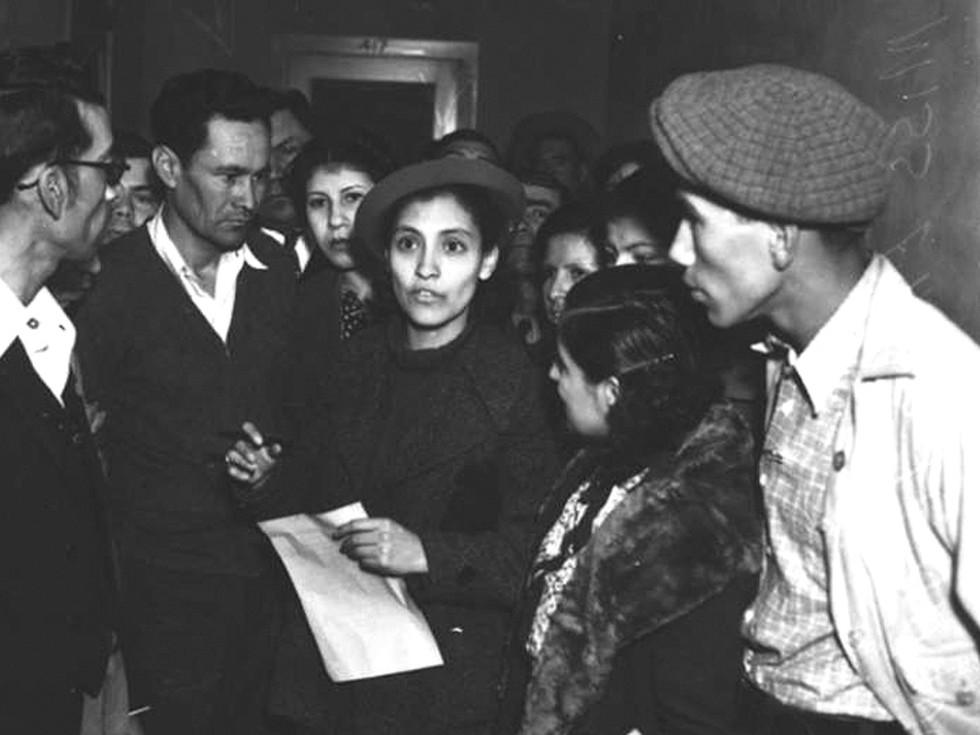 Emma Tenayuca was a noted labor organizer.