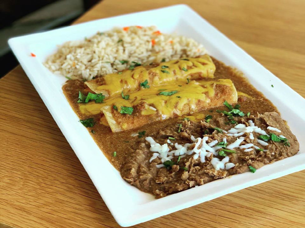 Nazca Kitchen enchiladas