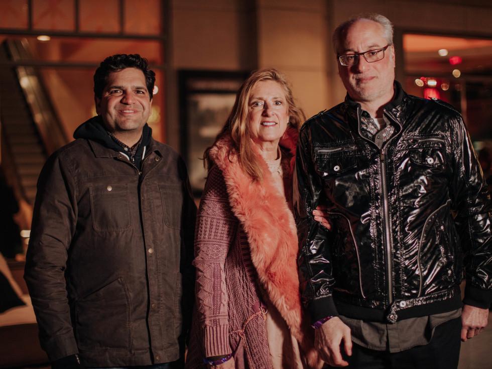Amit Kapoor, Paula Wilson, Wayne Bornstein