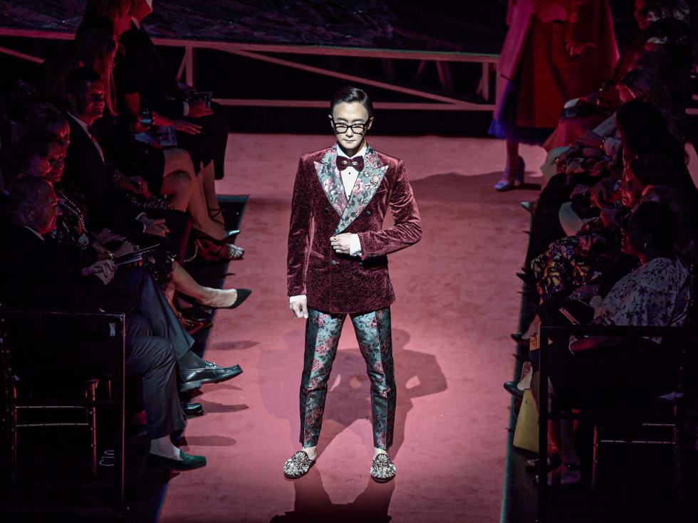 Dolce and Gabbana fashion show