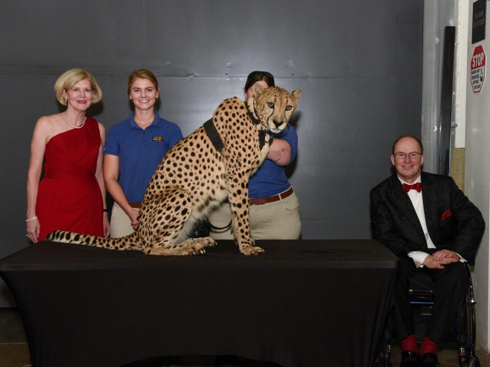 Ellen Winspear, Ryanne Hanley, Winspear the cheetah, Don Winspear