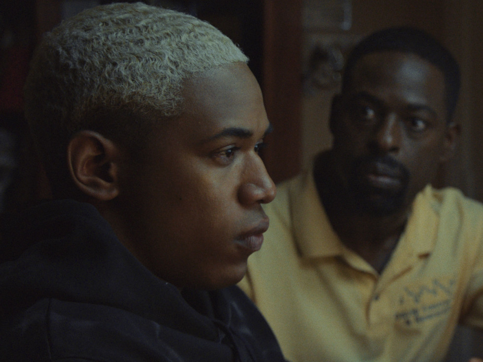 Kelvin Harrison Jr. and Sterling K. Brown in Waves
