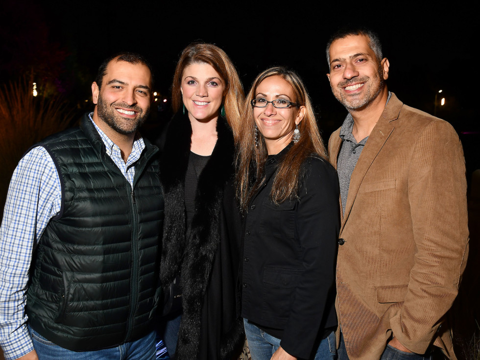 Urban Wild Bridge Bash Nick Rezvani, Amanda Dougherty, Melissa Rezvani and Reza Rezvani