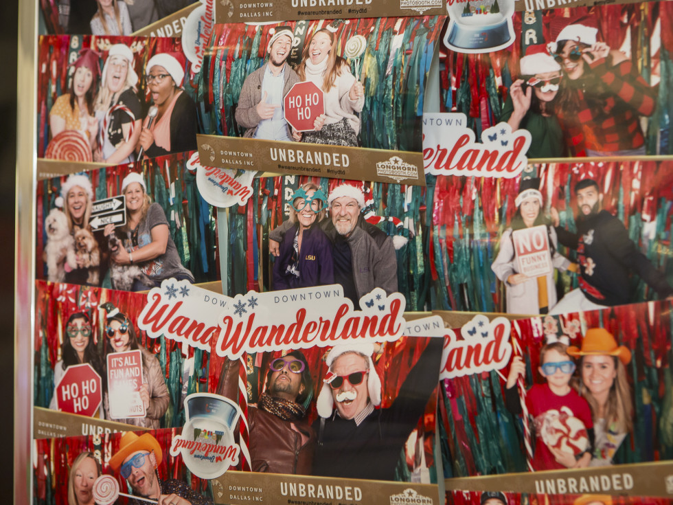 Unbranded photo booth