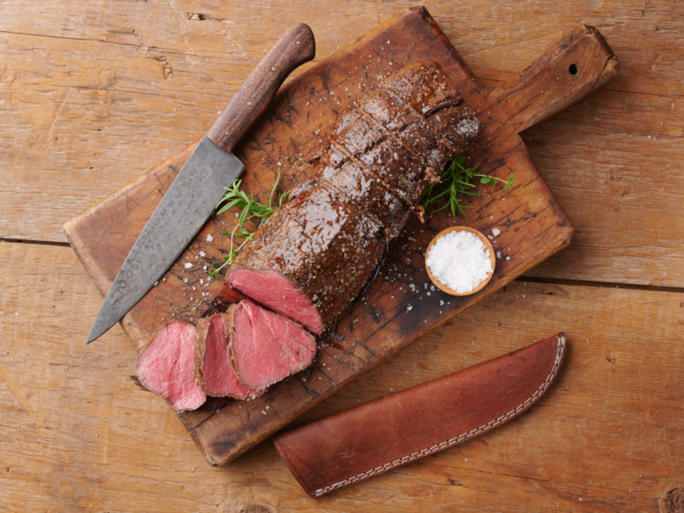44 Farms steak plus knife new