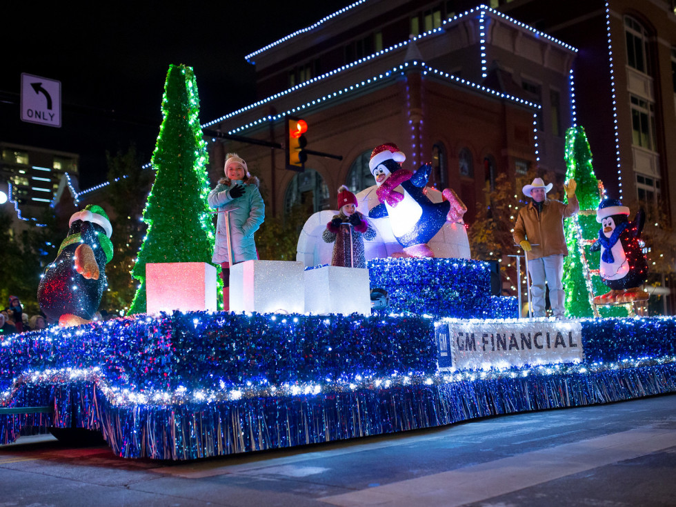 GM Financial Parade of Lights Fort Worth