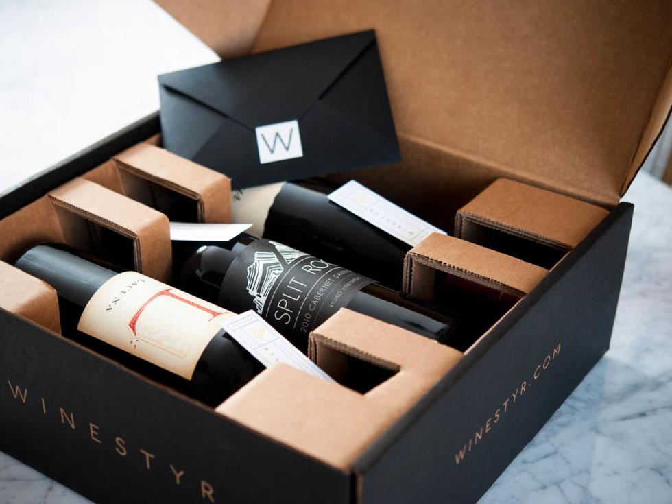 Winestyr gift packaging