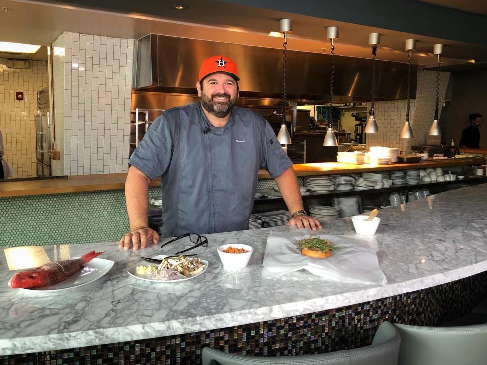 Bryan Caswell Reef restaurant