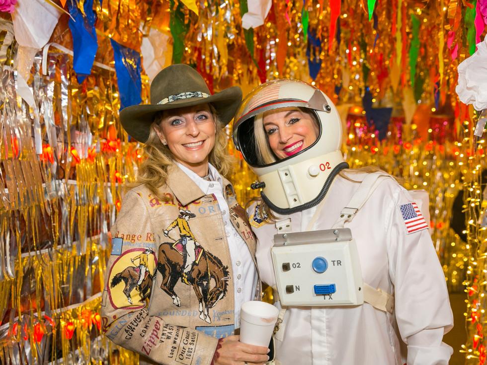 Orange Show Gala 2019 Kathy Masterson and Ann Singleton