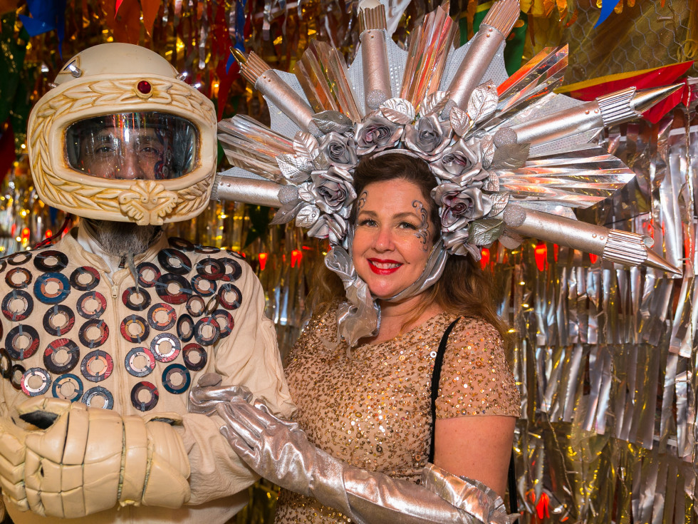 Orange Show Gala 2019 Guillermo Rosas and Amber Eagle