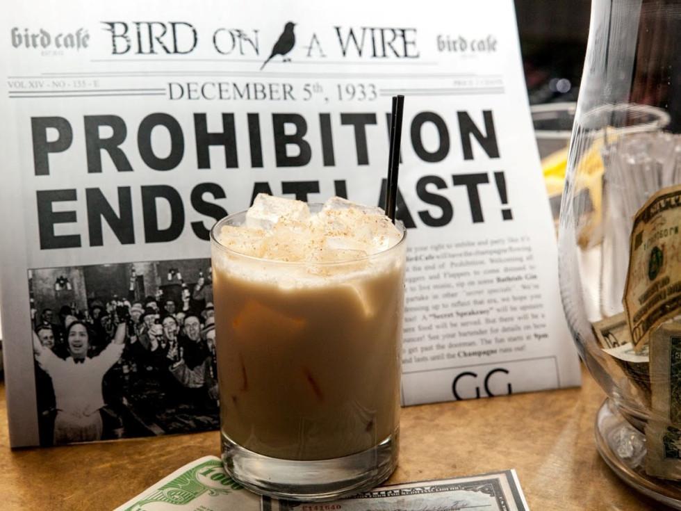 Bird Cafe Prohibition