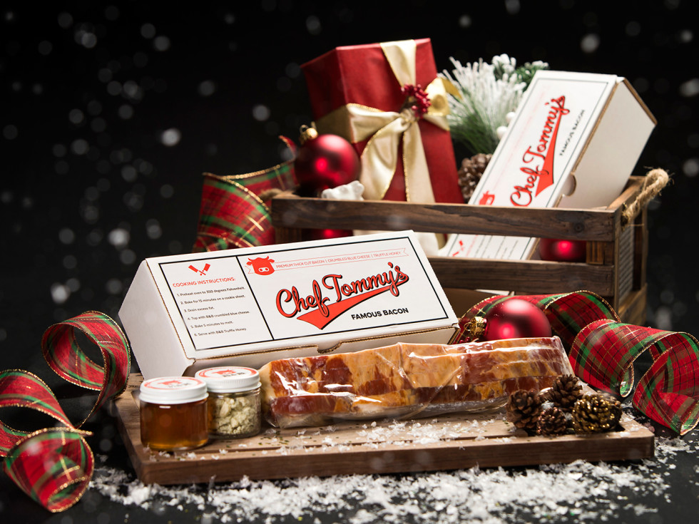 Chef Tommy's Bacon gift set from B&B Butchers