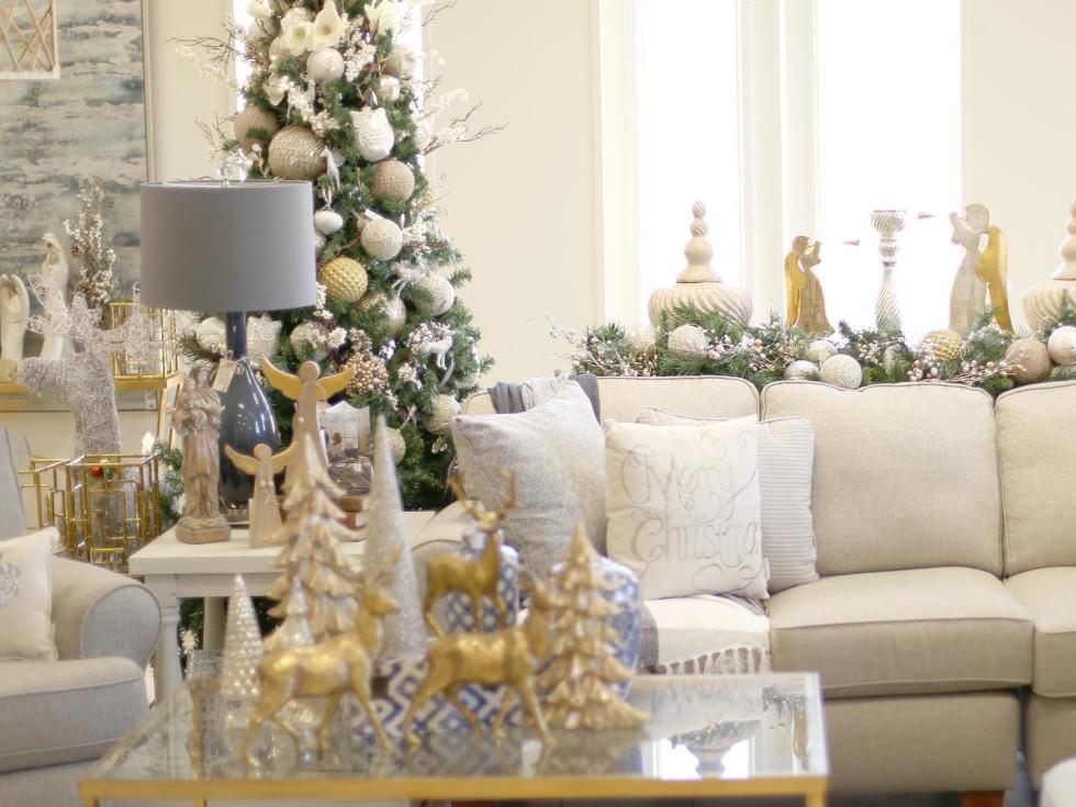 The Royal Standard holiday decor