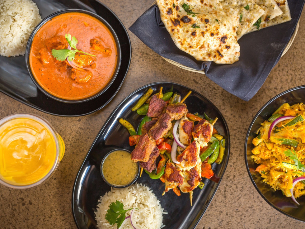 Tarka Indian Kitchen food spread