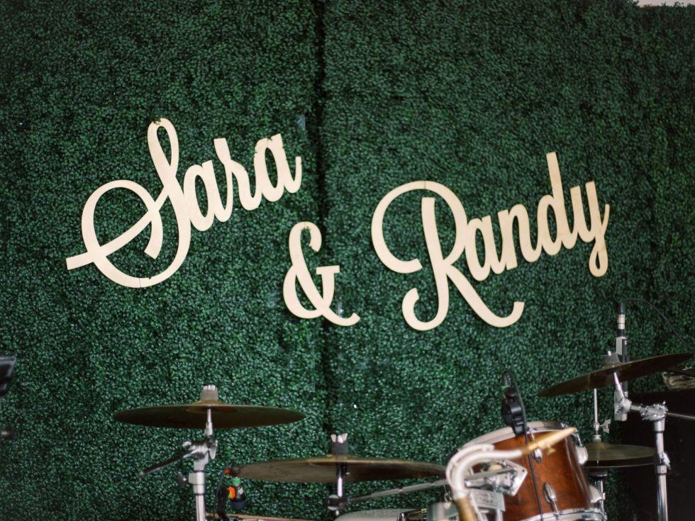 Sara Bond Randy Griffin wedding