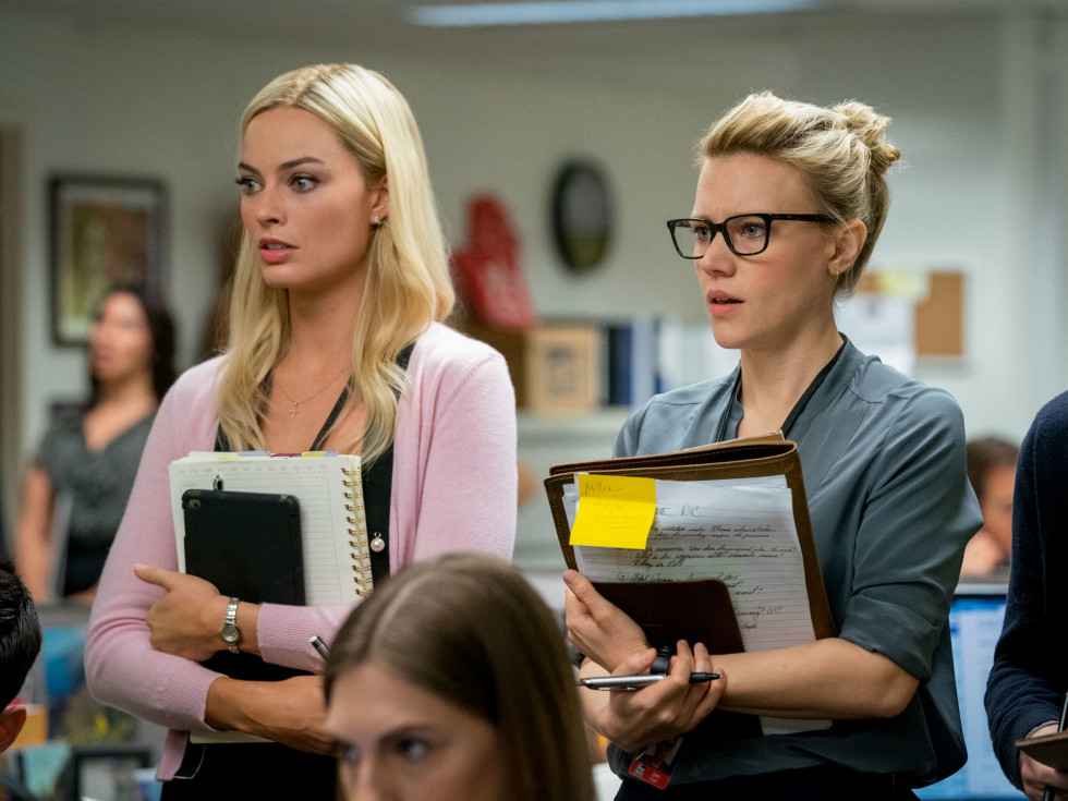 Margot Robbie and Kate McKinnon in Bombshell